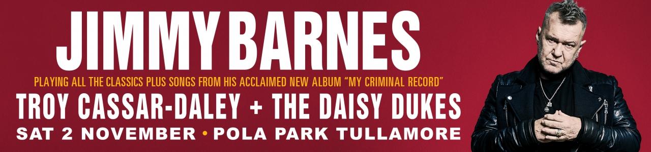 Jimmy Barnes Rocks Tullamore