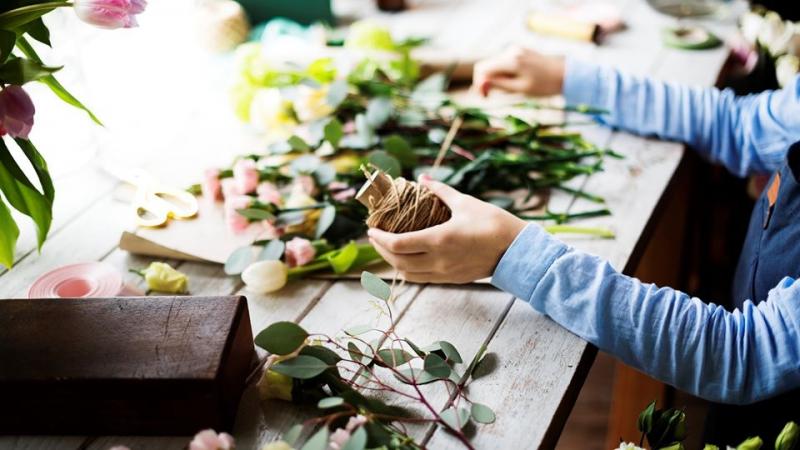 The Flower Makerie -Wreath Workshop