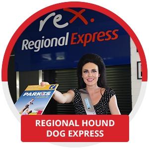Regional Hound Dog Express Plane
