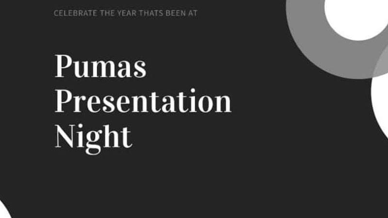 Pumas 2020 Presentation Night