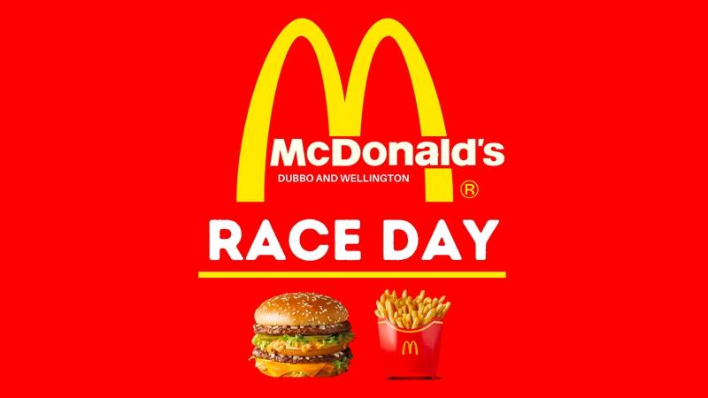 McDonald's Dubbo And Wellington Race Day