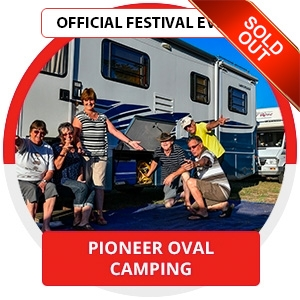 Parkes Elvis Festival - Pioneer Oval Camp Ground