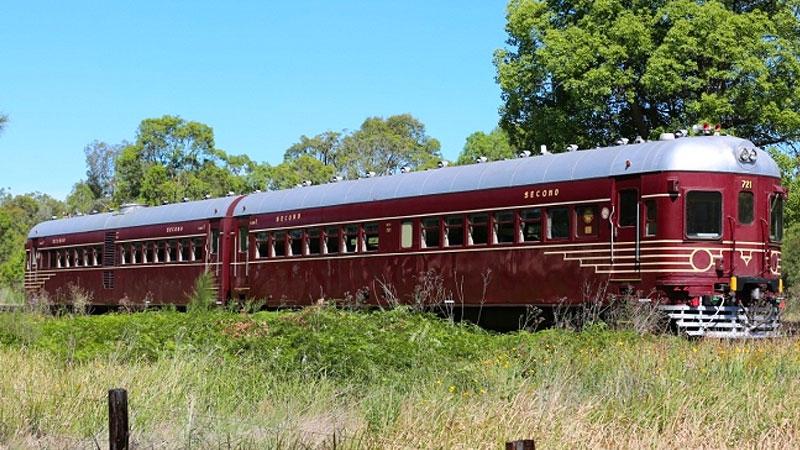 Heritage Rail Motor - Rylstone to Tarana Sunday Lunch