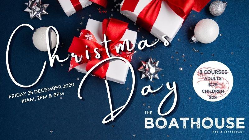 Christmas at the Boathouse Bar & Restaurant