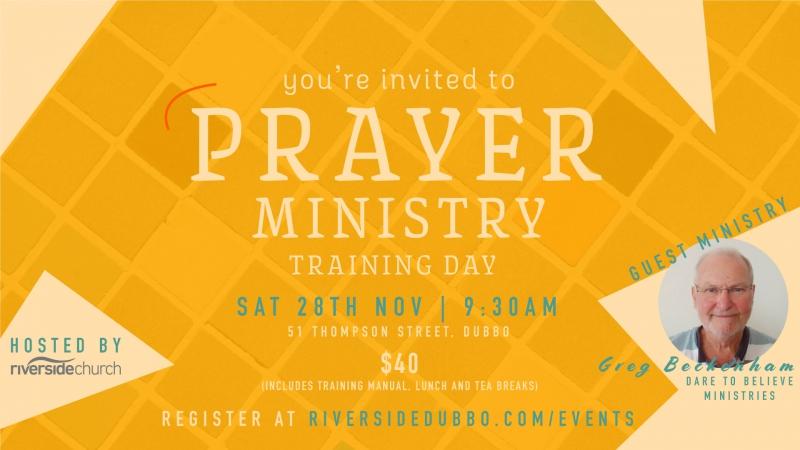 Prayer Ministry Training Day