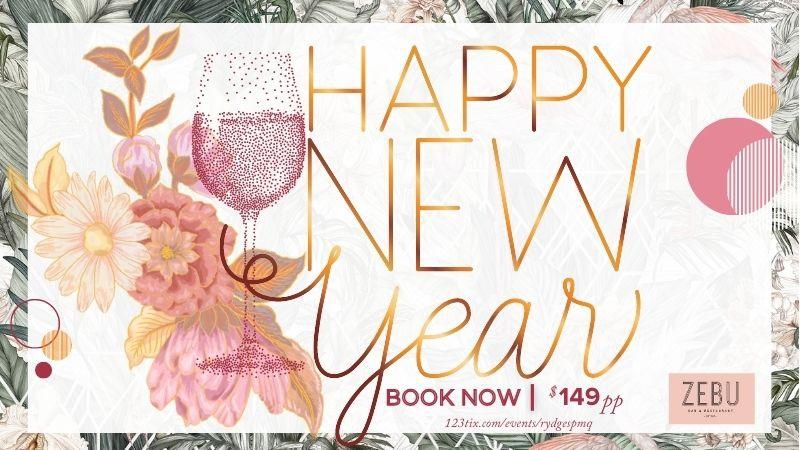 New Years Eve at Zebu