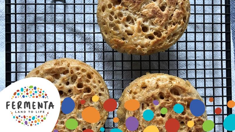 FERMENTA FESTIVAL - Sourdough Crumpet Workshop by olive.a.twist