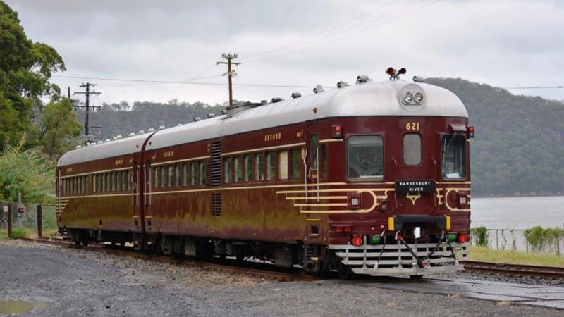 Heritage Rail Motor - Gulgong to Merrygoen
