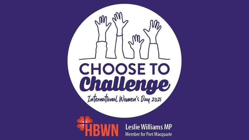 Choose to Challenge International Women's Day