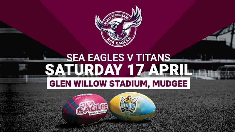 NRL Telstra Premiership  -  Sea Eagles V Titans