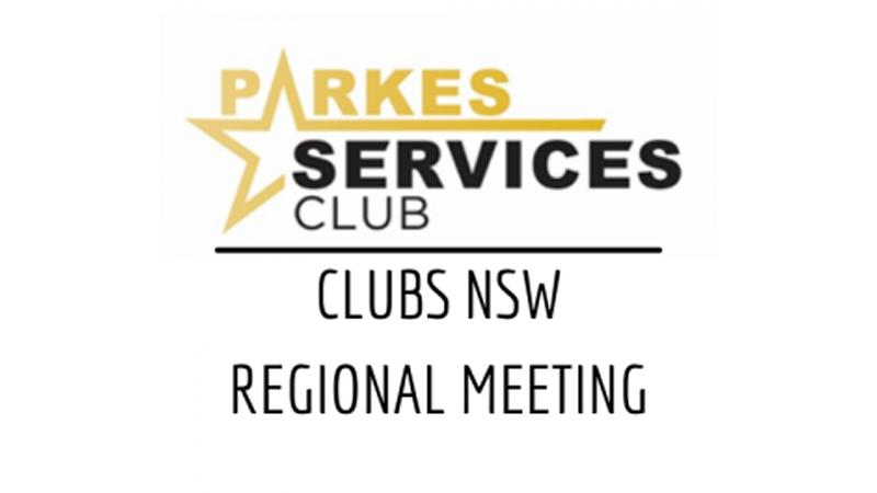 Clubs NSW Regional Meeting