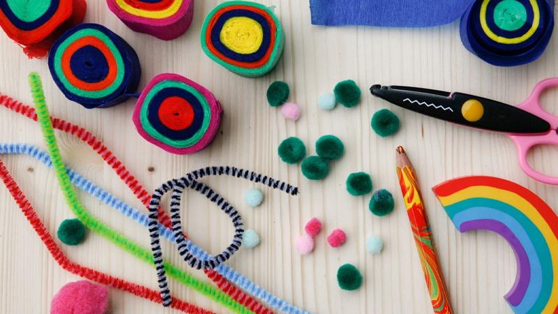 Kids 'special things box' workshop