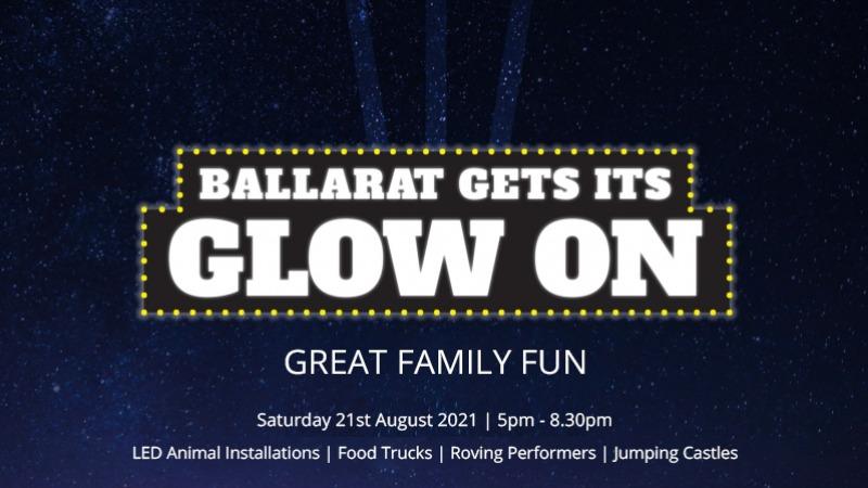"Ballarat ""Gets its Glow On"""