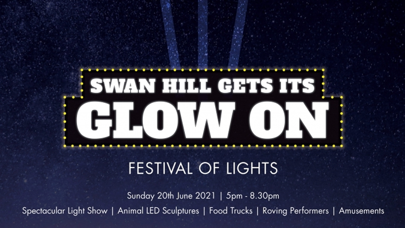 "Swan Hill ""Gets its Glow On"""