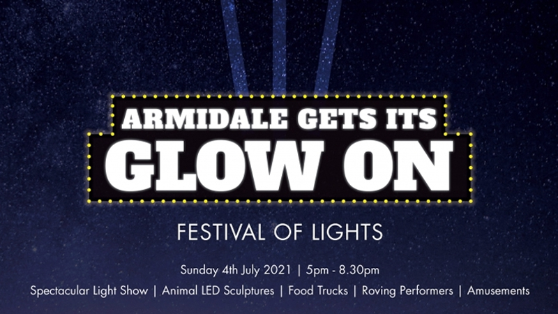 "Armidale ""Gets its Glow On"""