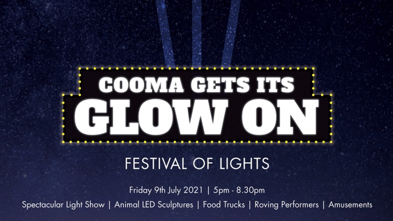 "Cooma ""Gets its Glow On"""