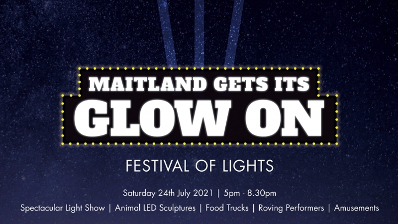 "Maitland ""Gets its Glow On"""