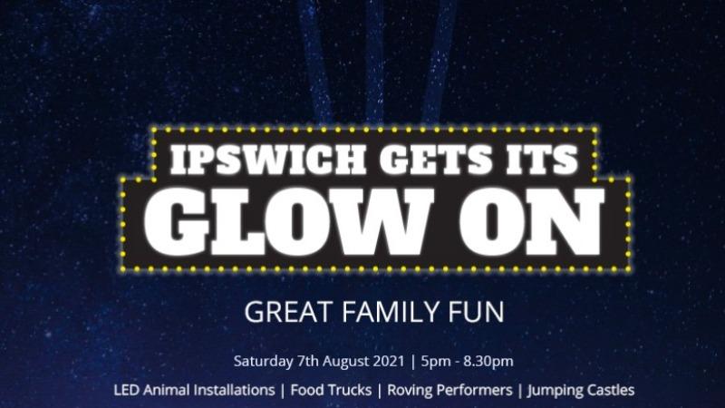"Ipswich ""Gets its Glow On"""