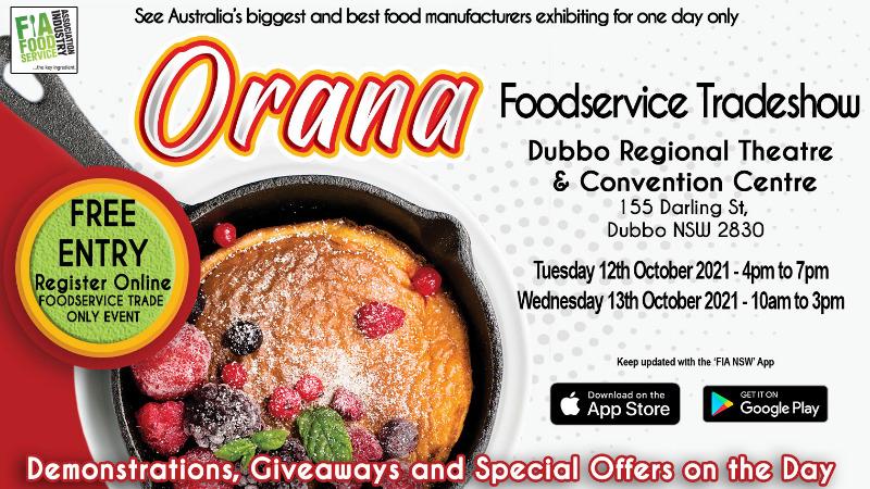 Orana / Dubbo Foodservice Tradeshow