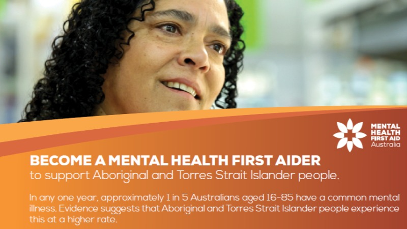 Aboriginal Mental Health First Aid