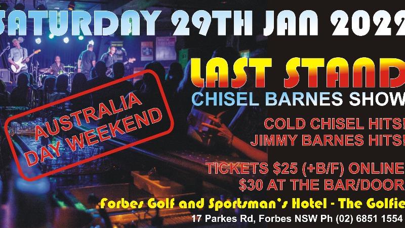 Last Stand Chisel Barnes Show