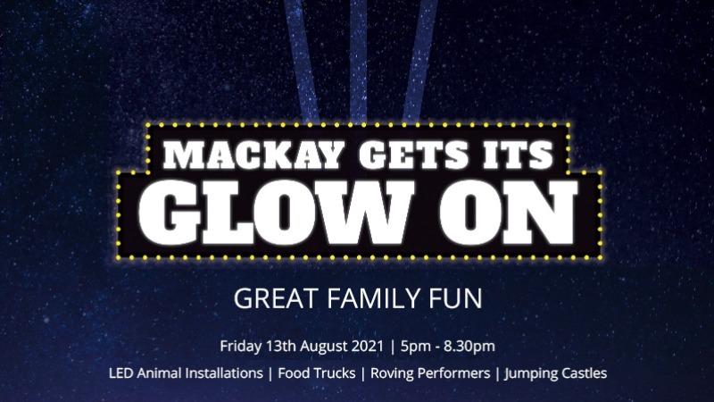 "Mackay ""Gets its Glow On"""