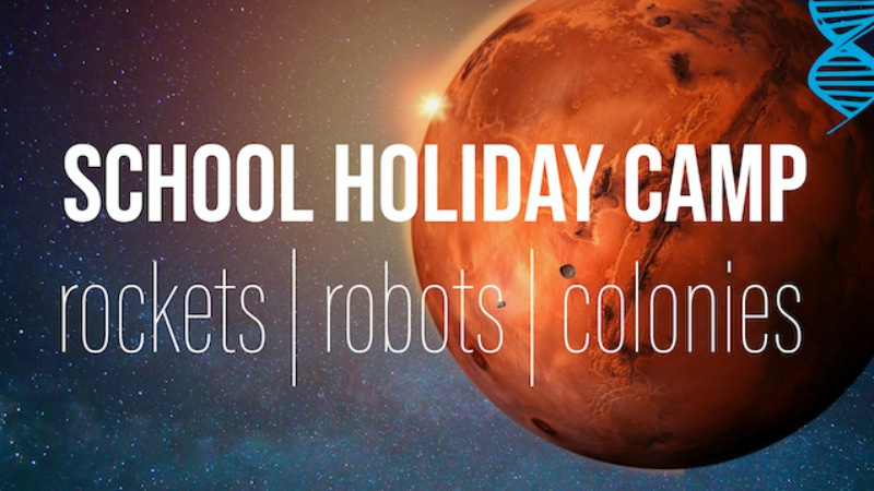 Colonising Mars: Monday-Weds STEM Camp for students in Years 6-8