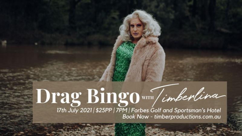 Forbes Golfie presents Drag Bingo w Timberlina