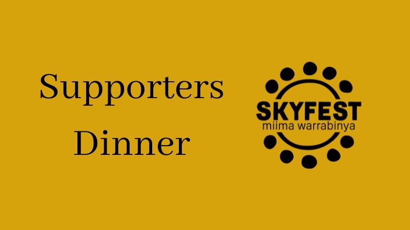 Condo SkyFest Supporters Dinner
