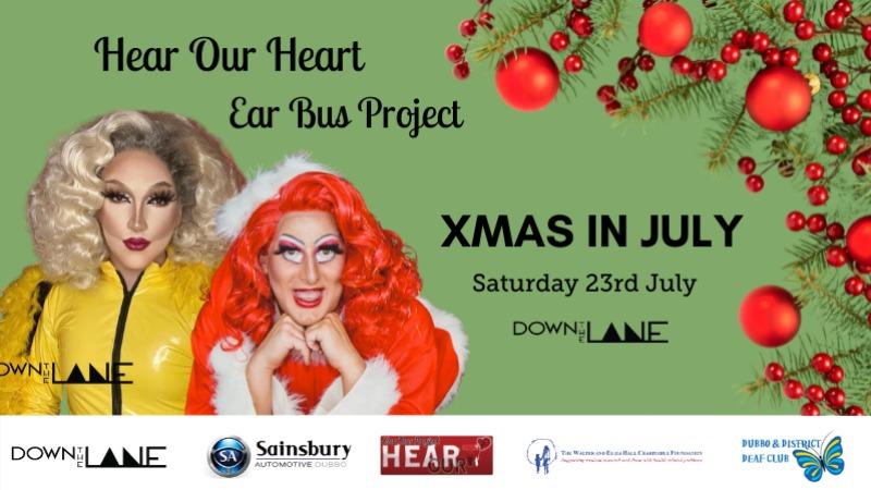 Drag Queen Bingo - Hear Our Heart Ear Bus Project Fundraiser