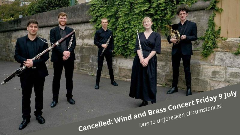 Wind Quintet and Brass Quartet Concert - CONCERT CANCELLED