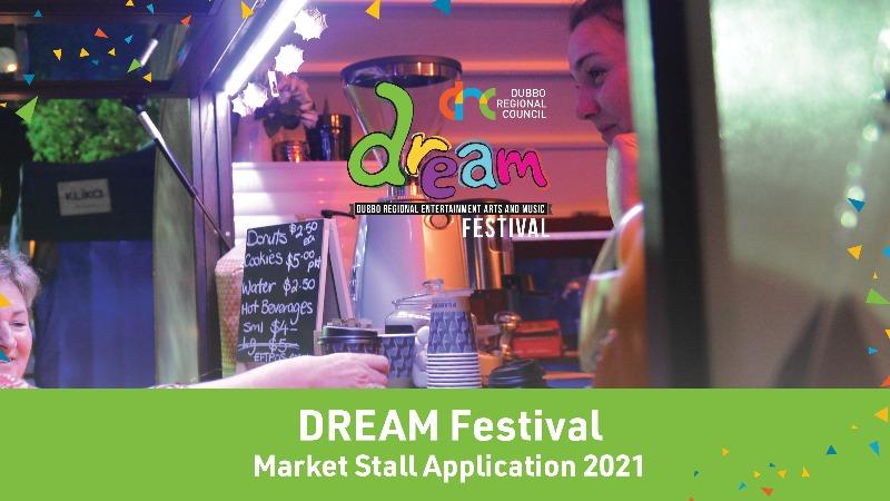 DREAM Festival -  Market Stall Application 2021