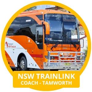 NSW TrainLink Coach - Tamworth