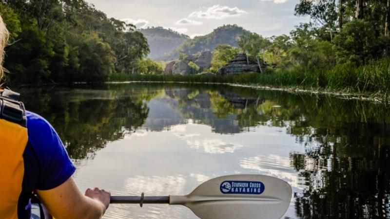 SOUTHERN CROSS KAYAKING Guided Kayak Tours - Dunns Swamp - TWILIGHT TOUR