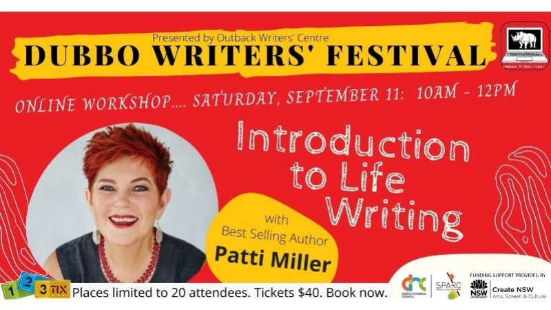 Introduction to Life Writing a workshop with Patti Miller