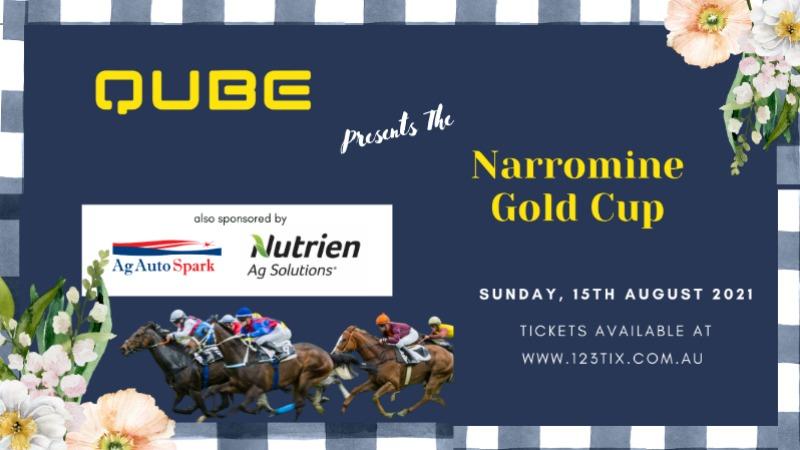 Narromine Turf Club presents QUBE  Gold Cup