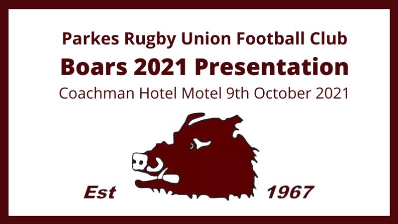 Boars 2021 Presentation