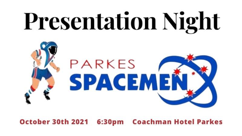 Parkes Spacemen Presentation Night
