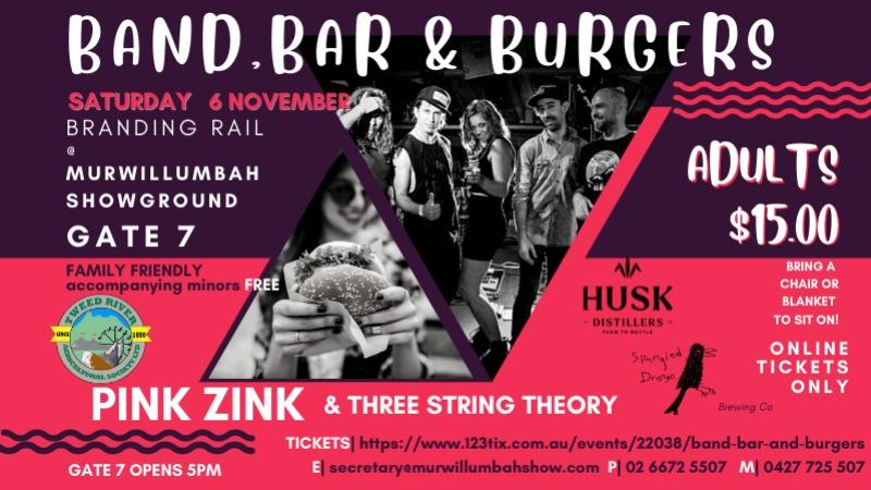 Band Bar and Burgers