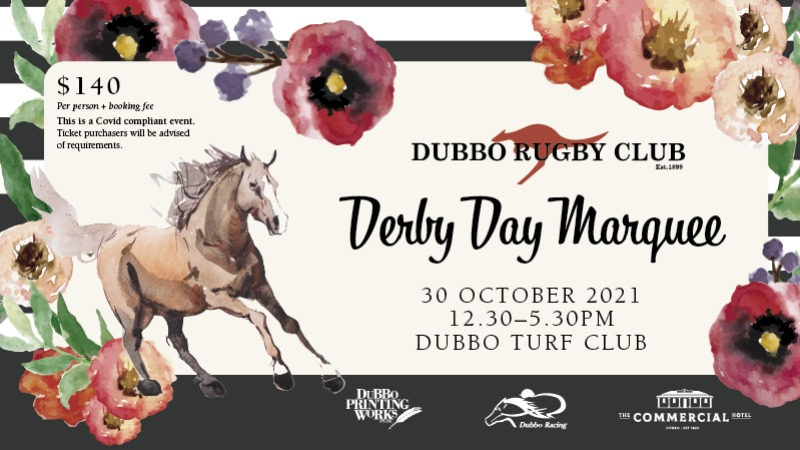 Dubbo Roos Derby Day Marquee