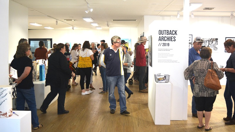 Outback Archies Art Prize - Official Exhibition Opening