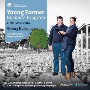 Young Farmer Business Program Startup Stories: SPRING RIDGE