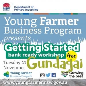 Getting Started - Bank Ready Workshop GUNDAGAI