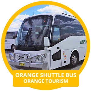 Parkes Elvis Festival - Orange Shuttle Bus
