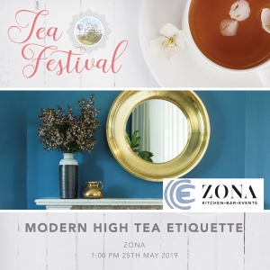 Tea Festival - High Tea Etiquette Workshop