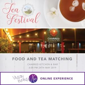 Tea Festival - ONLINE - Food & Tea Matching