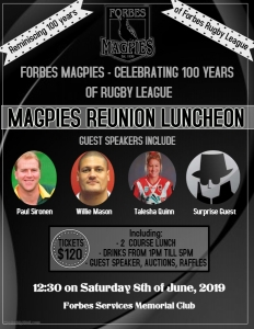 Magpies Luncheon