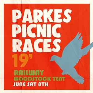 Parkes Picnic Races Railway Hotel Tent