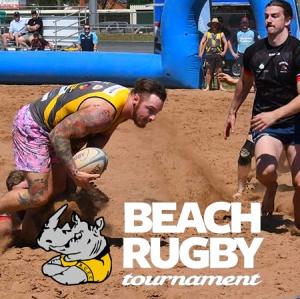 Dubbo Rhinos Beach Rugby 2019
