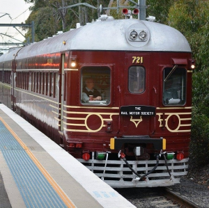 Heritage Rail Motor visits the Riverina - Griffith to Leeton